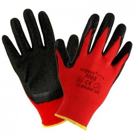 tolle sorten kostengünstig kostenloser Versand 12 Paar Arbeitshandschuhe Handschuhe Garten EN420 Kat I rot-schwarz Urgent  1003 - Allsell24 Beata Kopczynska