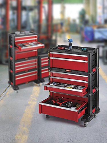 5 Drawer Tool Chest System Tool Organizer Box Toolbox