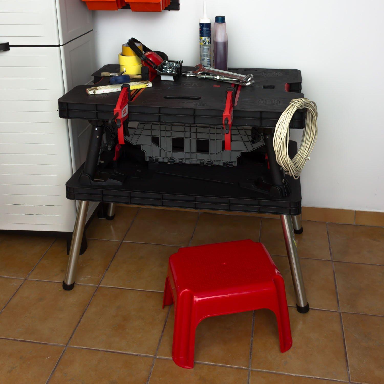 Keter Tool Master Pro Series Folding Work Bench Table
